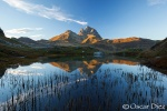Reflection of Midi Ossau